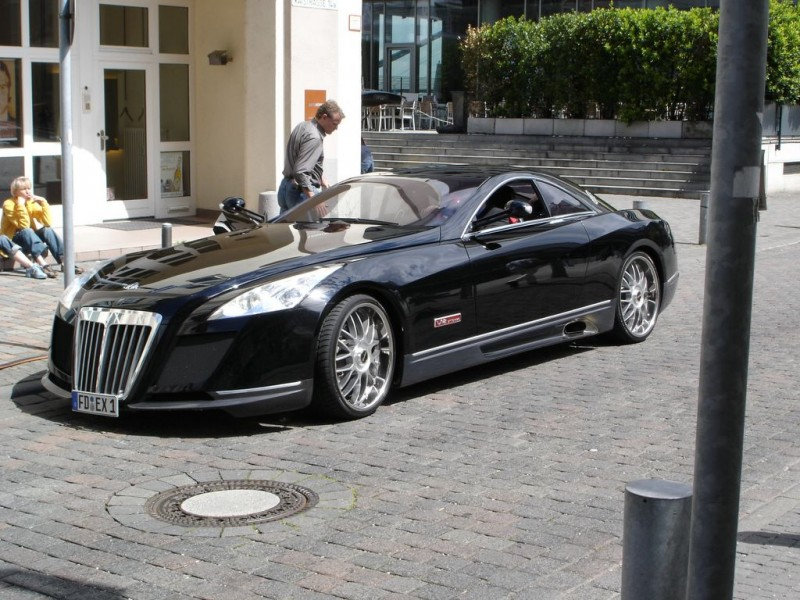 Maybach Exelero купе