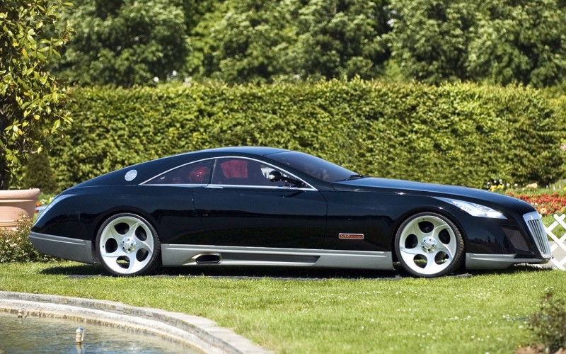Maybach Exelero вид сбоку