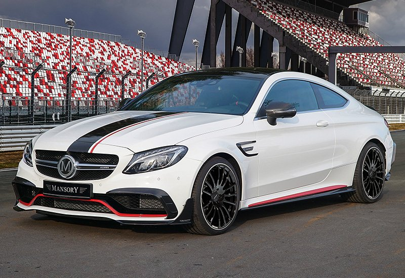 Mercedes-AMG C63 Coupe Mansory
