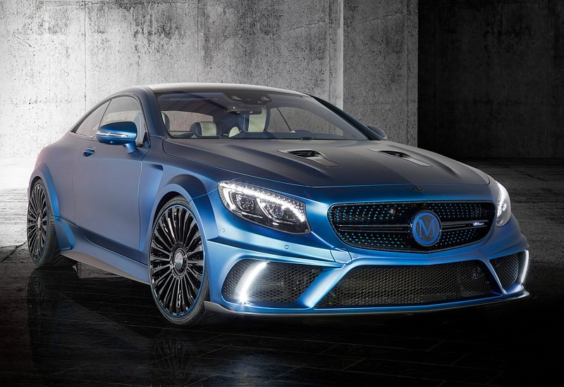Mercedes-Benz S 63 AMG Coupe Mansory Diamond Edition