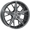 OZ Quaranta 5 Grigio Corsa Diamond Cut 7.5x17 5*100 d68.0 ET35