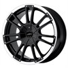 American Racing AR881 Black/Machined 7x16 5*100 d72.62 ET42