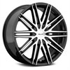 Helo HE880 Black/Machined 8.5x20 5*120 d74.1 ET42