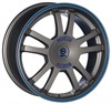 Sparco Rally Matt Silver Tech Blue Lip 7x16 4*108 d73.1 ET25