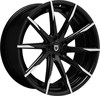 Lexani CSS15 Black/Machined 8.5x20 5*120 d74.1 ET30