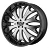 Lorenzo WL29 Black/Machined 8.5x22 5*120 d74.1 ET38