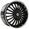 Lexani CS3 Black/Chrome 8.5x22 5*120 d78.1 ET37